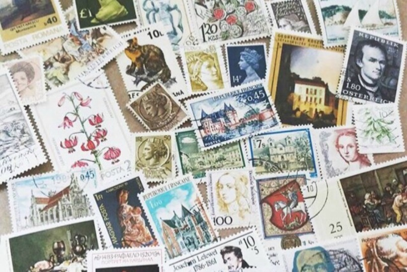 How to find and buy vintage stamps - for mailing invitations!