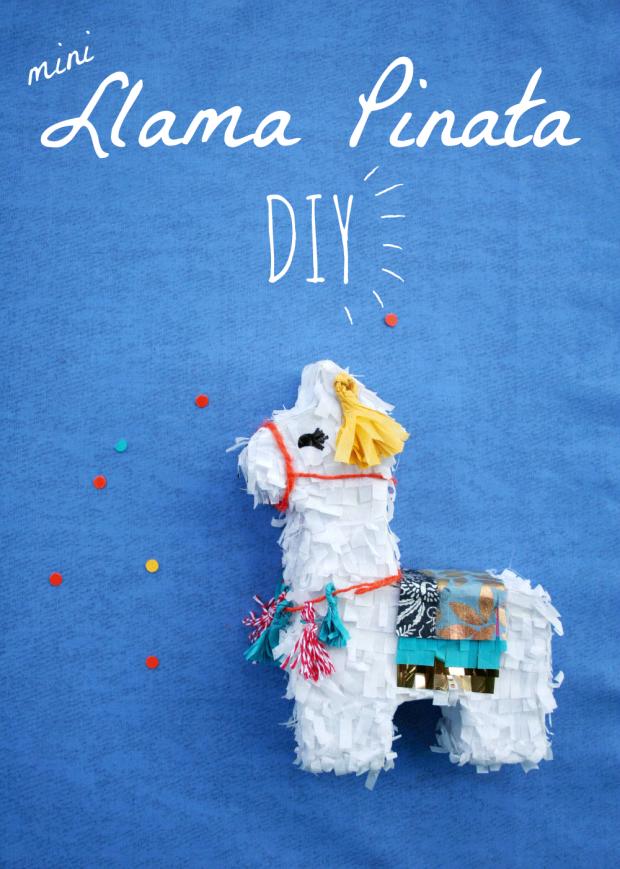 Mini Llama Pinata Tutorial