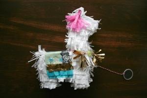 llama pinata invite for cinco de mayo fiesta